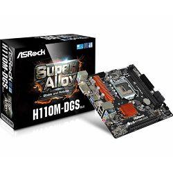 Matična ploča ASRock H110M DGS R3.0 Intel Socket 1151 (mATX) MB