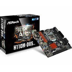 Matična ploča ASRock H110M-DVS-R3.0 Intel 1151 Socket (mATX) MB