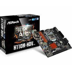 Matična ploča ASRock LGA1151 H110M-HDV R3.0