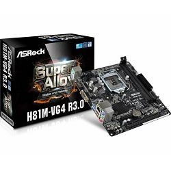 Matična ploča ASRock Intel 1150 Socket H81 Chipset M-ATX MB