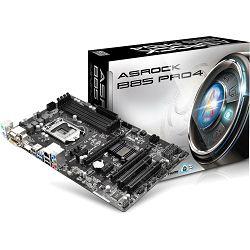Matična ploča Asrock Intel 1150 Socket B85 Pro4 Chipset ATX MB