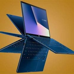 Laptop Asus TP412UA-EC127T VivoBook Flip Galaxy Blue 14