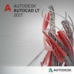Autodesk AutoCAD LT 2017 jednokorisnički dvogodišnji najam sa uključenom naprednom podrškom, elektronski proizvod