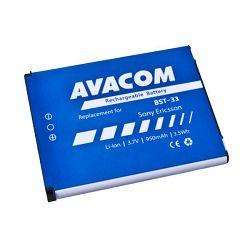Baterija Avacom Sony Ericsson K550i, K800, W900i