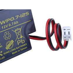 Avacom UPS baterija 12V 0,7Ah, JST (WP0.7-12S)
