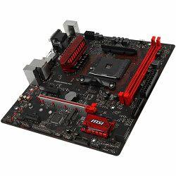 Matična ploča MSI B350M GAMING PRO (SAM4, 2xDDR4, PCI-Ex16, 2xPCI-Ex1, USB3.1, USB2.0 ,4xSATA III, M.2, Raid, VGA, DVI-D, HDMI, GLAN) mATX Retail