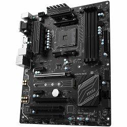 Matična ploča MSI B350 (SAM4, 4xDDR4, 2xPCI-Ex16, 2xPCI-Ex1, 2xPCI, USB3.1, USB2.0 ,4xSATA III, M.2, Raid, VGA, DVI-D, HDMI, GLAN) ATX Retail
