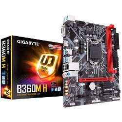 Matična ploča Gigabyte B360M H (S1151, 2xDDR4, HDMI, VGA, 1xPCIex16, 1xPCIex1, Realtek 8118, 4xSATA III, M.2, USB 3.1, USB 2.0) mATX Retail