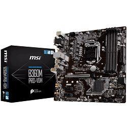 Matična ploča MSI B360M PRO-VDH (S1151, DDR4, USB3.1, USB2.0, SATA III,M.2, HDMI, DVI-D, VGA,  8-Channel(7.1) HD Audio with Audio Boost, Realtek 8111H Gigabit LAN) mATX
