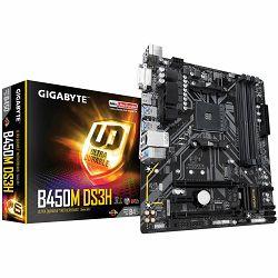 Matična ploča Gigabyte B450M DS3H AMD B450, AM4, 4xDDR4, DVI-D/HDMI, 2xPCIe x16, 1xPCIe x1, 1xM.2, 4xSATA, mATX