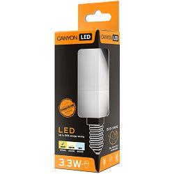 CANYON BE14FR3.3W230VW LED žarulja, B38 shape, milky, E14, 3.3W, 220-240V, 150°, 250 lm, 2700K, Ra>80, 50000 h