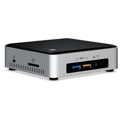 Računalo Intel NUC kit, i3-6100U, 2x DDR4 1866MHz 1.2V SODIMM (max 32GB), M.2 SSD 6Gbps (42/80mm), Računalo Intel 4K HD Graphics 520 (mDP + HDMI), SDXC UHS-I slot, 7.1 Audio