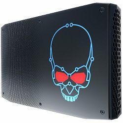 Intel Unlocked VR-ready NUC, i7-8809G QC 3.1GHz / 4.2Hz , 2x1.2V SODIMM (max 32GB), 2xNVMe/SATA M.2 SSD w/RAID, Radeon RX Vega M GH (2xTB 3 (40 Gbps) USB 3.1 G2 (10 Gbps), DP 1.2 - USB-C), USB 3.1 + 4