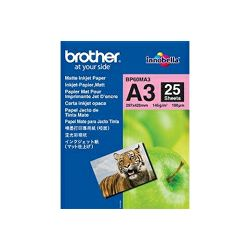 Brother A3 mat papir, 25 listova, 145 g/m2.