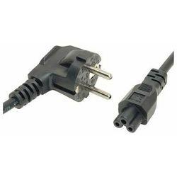 Bulk AC cord - 0.6m / 2ft, C5 connector, EU plug, single pack