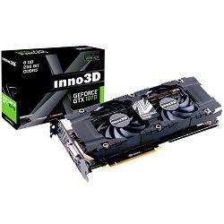 Grafička kartica Inno3D GeForce GTX 1070 iChill X3 V2 (1582Mhz / 8Gbps) / 8 GB GDDR5 / 256-bit / Dual DVI+HDMI+DP / VA12U / GP104F8532