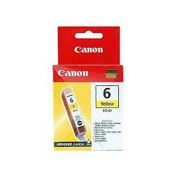 Tinta CANON BCI-6Y, žuta