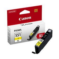 Tinta CANON CLI-551Y XL, žuta
