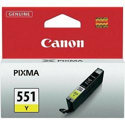 Tinta CANON CLI-551Y, žuta