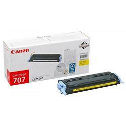 Toner Canon CRG-707Y, žuti