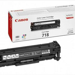 Toner Canon CRG-718Bk, crni