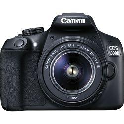 Digitalni fotoaparat Canon EOS 1300D 18-55, 18MP, ISO6400, FullHD