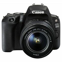 Fotoaparat Canon EOS 200D + 18-55mm DC III