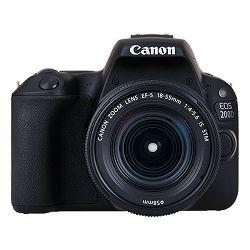 Fotoaparat Canon EOS 200D + 18-55mm IS