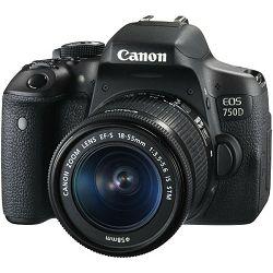 Canon EOS 750d + 18-55d