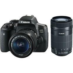 Fotoaparat Canon EOS 750d + 18-135IS + 55-250 IS