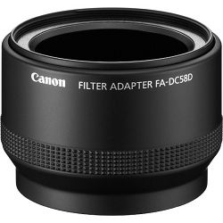 Canon filter adapter FA-DC58D