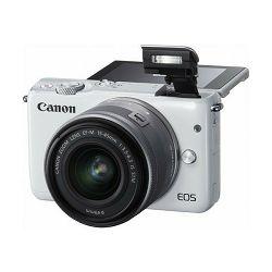 Digitalni fotoaparat Canon EOS M10 bijeli + EFM 15-45mm