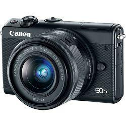 Fotoaparat Canon EOS M100 crni+ EFM 15-45mm