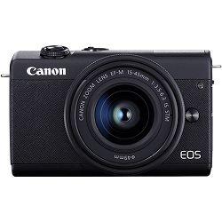 Canon EOS M200 crni+ EFM 15-45mm