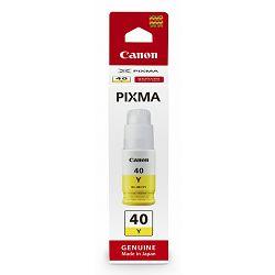 Tinta Canon GI-40Y, žuta
