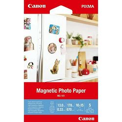 Canon Magnetski Photo Papir MG-101 10x15 - 5 L