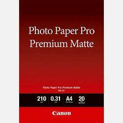 Canon Photo Paper Premium Matte PM101 - A4 - 20L