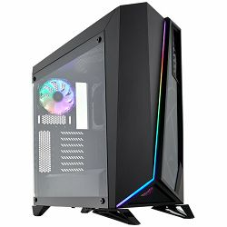 Carbide SPEC-OMEGA RGB Mid-Tower Tempered Glass Gaming Case — Black