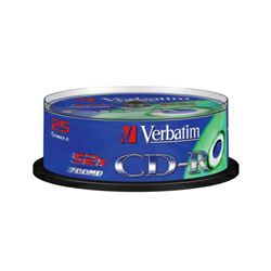 VERBATIM CD 25 kom S, 52x, 700MB
