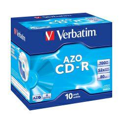 CD-R Verbatim 700MB 52× DataLife+ Crystal 10 pack JC