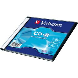 CD-R Verbatim 700MB 52× Datalife Slimcase EP (min.količina 100 kom)