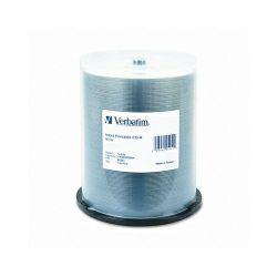 CD-R Verbatim 700MB 52× White Thermal Printable 100 pack spindle