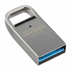 Corsair USB drive Flash Voyager Vega USB 3.0 32GB, Ultra-Compact Low Profile USB Flash Drive, Zinc Alloy Housing, Plug and Play, EAN:0843591054874