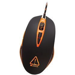 Optical gaming mouse,  adjustable DPI setting 800/1600/2400/4800, LED backlight, Black