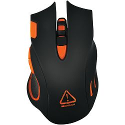 Optical gaming mouse, adjustable DPI setting 800/1600/2400/4800/6400, LED backlight, Black