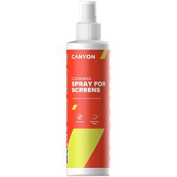 Canyon Screen ?leaning Spray for optical surface, 250ml, 58x58x195mm, 0.277kg