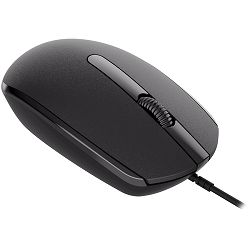 Canyon Wired  optical mouse with 3 buttons, DPI 1000, with 1.5M USB cable, black, 65*115*40mm, 0.1kg