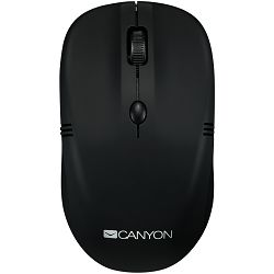 Wireless mice, 4 buttons, DPI 800/1200/1600, 2.4Ghz  rubber coating black