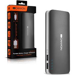 Canyon CNE-CPB130DG Battery charger for portable device 13000 mAh (Dark Grey)