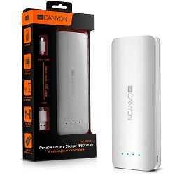 Canyon CNE-CPB156W Battery charger for portable device 15600 mAh (White)